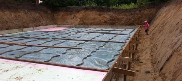 Schalung Der Bodenplatte Bautagebuch