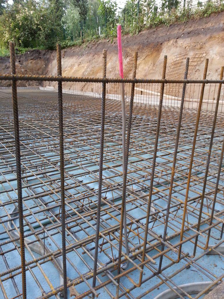Berühmt Bewehrung Bodenplatte | Bautagebuch GK72