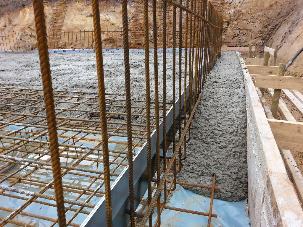 Der Beton fließt