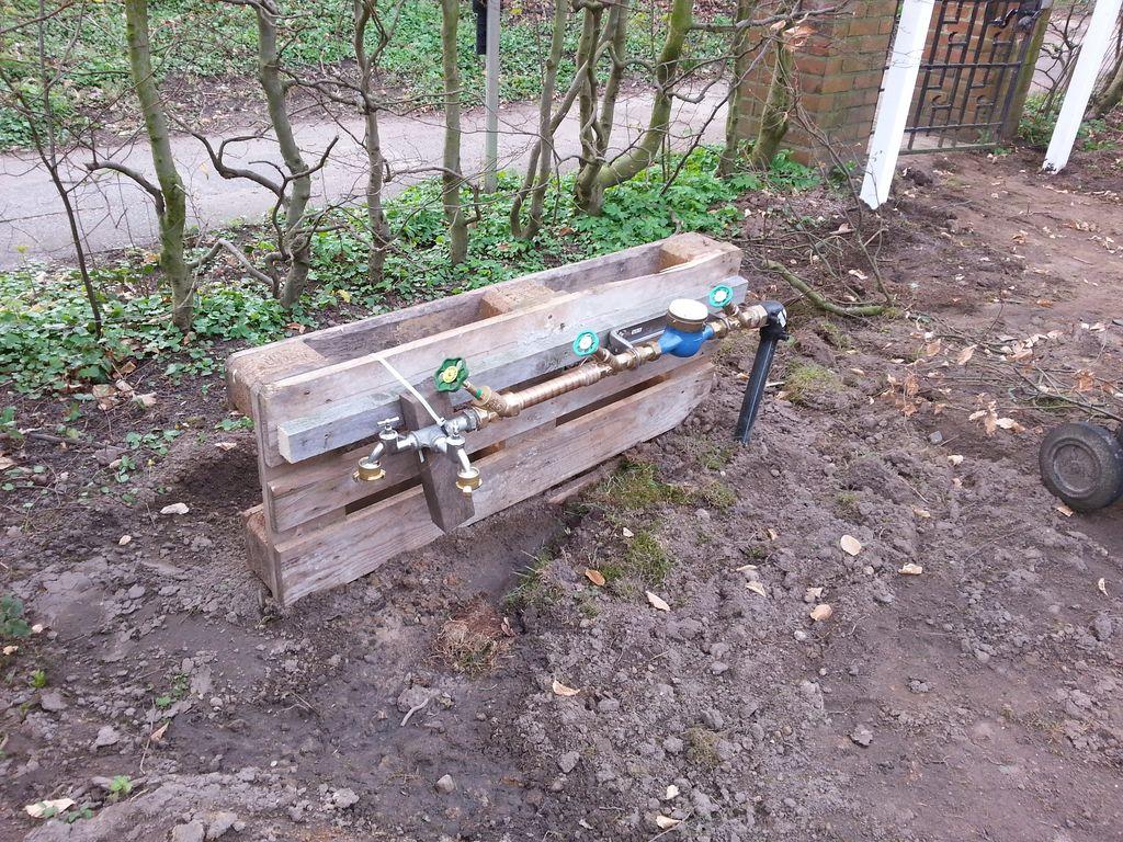 Anschluss für Bauwasser (2.4.2014)