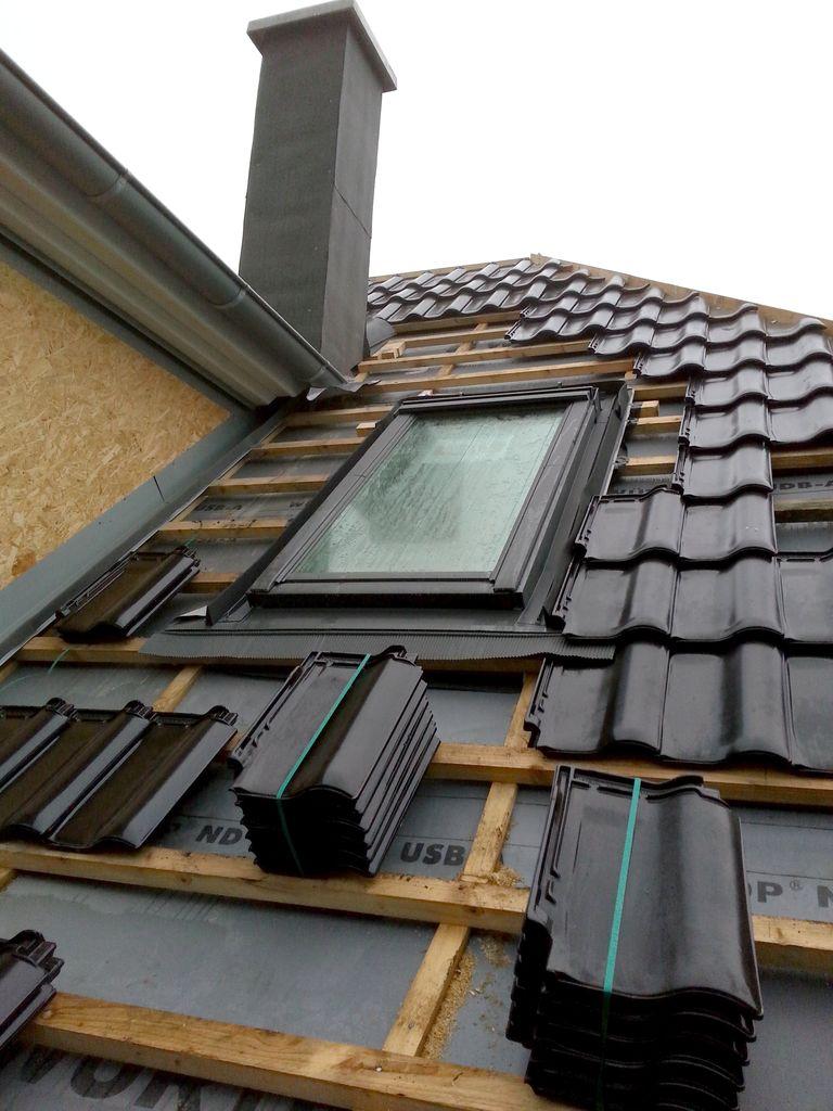 Velux-Fenster mit Schornsteinfeger-Ausstieg