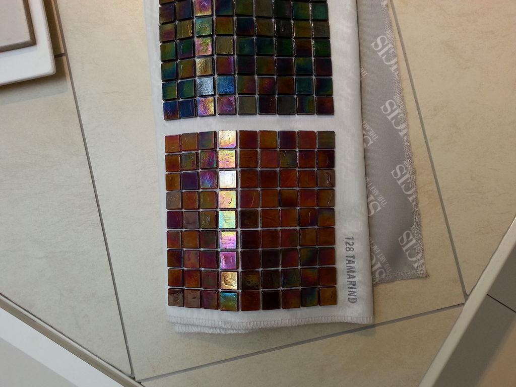 Bodenfliese und Mosaik für Gästebad und Kinderbad