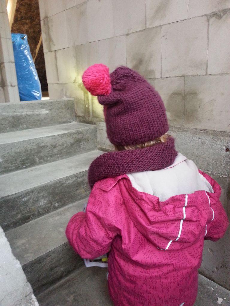 Die Treppe ganz nach oben