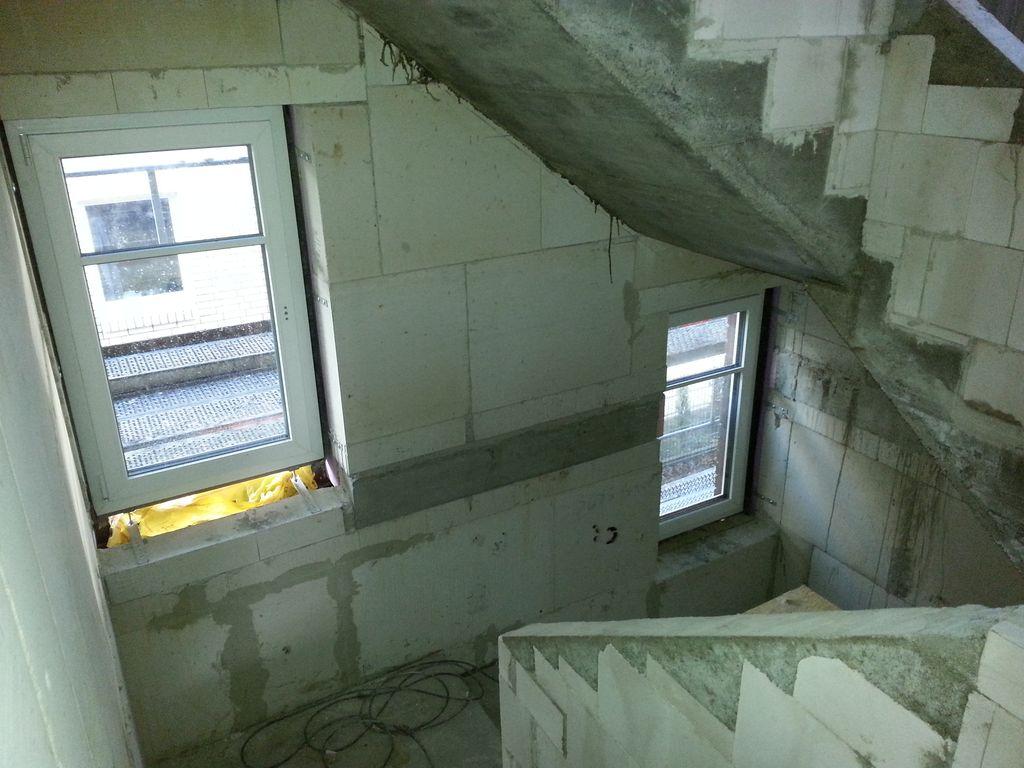 Fenster im Treppenhaus